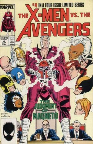 The X-Men vs. the Avengers # 4 Issues