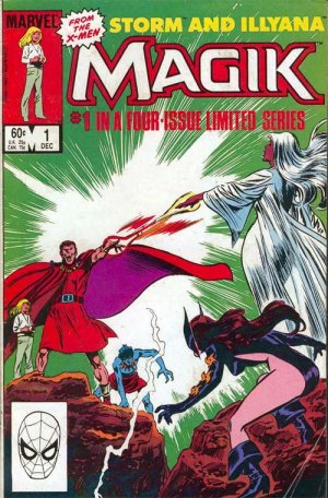 Magik (Illyana and Storm Limited Series) # 1 Issues (1983 - 1984)
