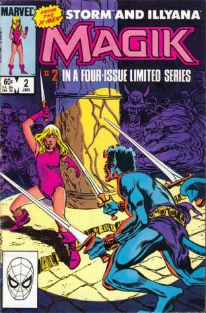 Magik (Illyana and Storm Limited Series) # 2 Issues (1983 - 1984)