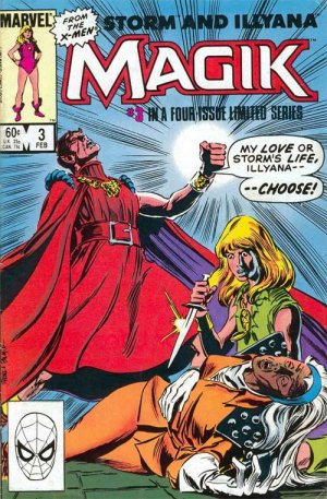 Magik (Illyana and Storm Limited Series) # 3 Issues (1983 - 1984)