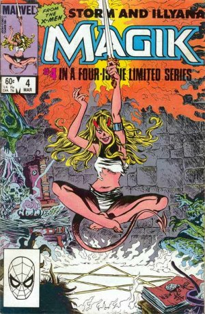 Magik (Illyana and Storm Limited Series) # 4 Issues (1983 - 1984)