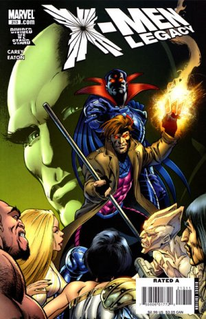 X-Men Legacy # 213