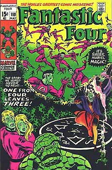 Fantastic Four # 110 Issues V1 (1961 - 1996)