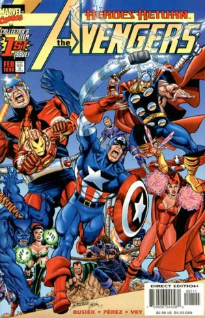 Avengers édition Issues V3 (1998 - 2004)