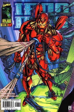 Iron Man # 1 Issues V2 (1996 - 1997)