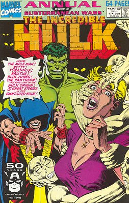 The Incredible Hulk édition Issues V1 - Annuals (1976 - 1997)
