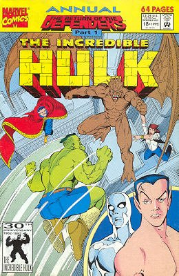 The Incredible Hulk # 18 Issues V1 - Annuals (1976 - 1997)