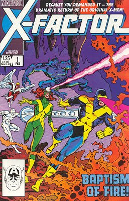X-Factor édition Issues V1 (1986 - 1998)