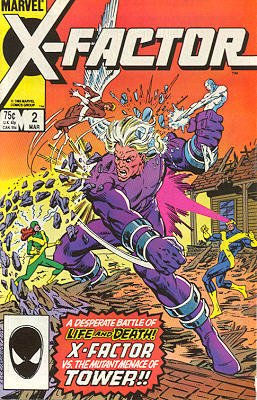 X-Factor # 2 Issues V1 (1986 - 1998)