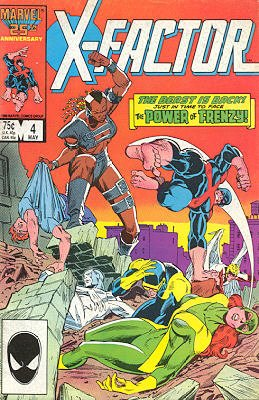 X-Factor # 4 Issues V1 (1986 - 1998)
