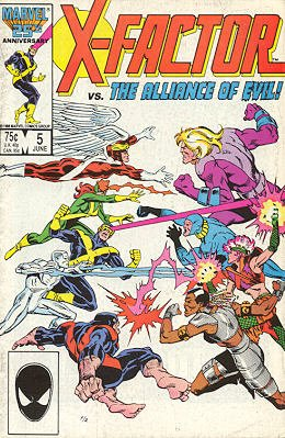 X-Factor # 5 Issues V1 (1986 - 1998)