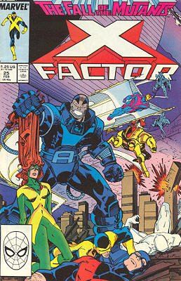 X-Factor # 25 Issues V1 (1986 - 1998)