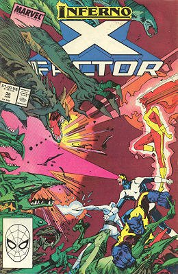 X-Factor # 36 Issues V1 (1986 - 1998)