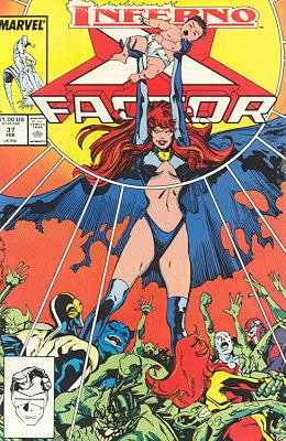 X-Factor # 37 Issues V1 (1986 - 1998)