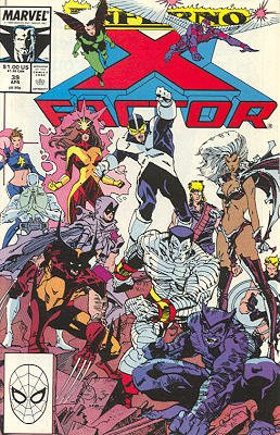 X-Factor # 39 Issues V1 (1986 - 1998)