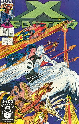 X-Factor # 63 Issues V1 (1986 - 1998)