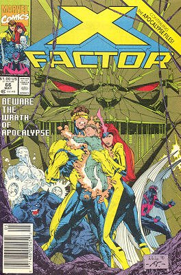 X-Factor # 66 Issues V1 (1986 - 1998)