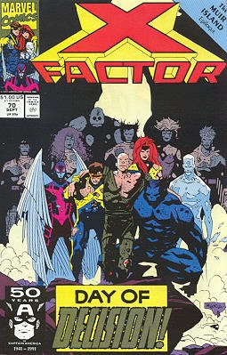 X-Factor # 70 Issues V1 (1986 - 1998)
