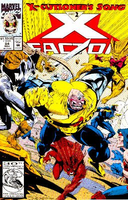 X-Factor # 84 Issues V1 (1986 - 1998)