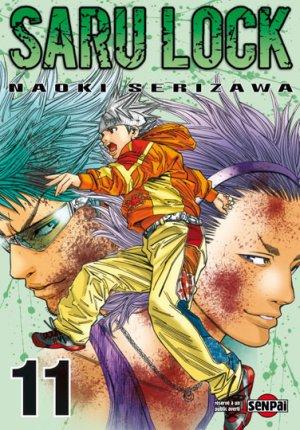 couverture, jaquette Saru Lock 11  (Pika) Manga