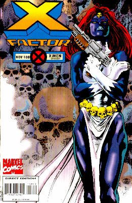 X-Factor # 108 Issues V1 (1986 - 1998)
