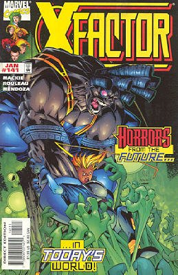 X-Factor # 141 Issues V1 (1986 - 1998)