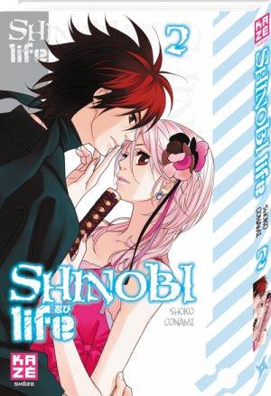 couverture, jaquette Shinobi Life 2  (kazé manga)
