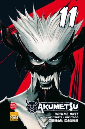 couverture, jaquette Akumetsu 11  (Taifu Comics)