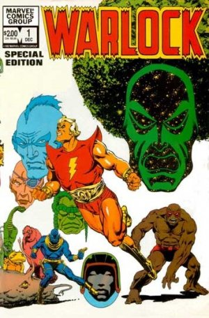 Warlock édition Issues V2 (1982 - 1983)