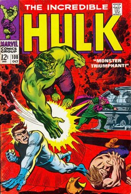 The Incredible Hulk # 108 Issues V1 Suite (1968 - 1999)