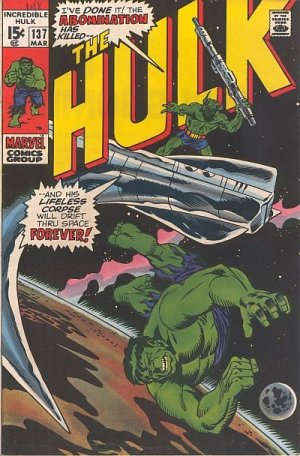 The Incredible Hulk 137 - The Stars, Mine Enemy!