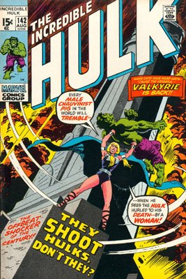 The Incredible Hulk # 142