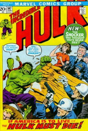 The Incredible Hulk # 147