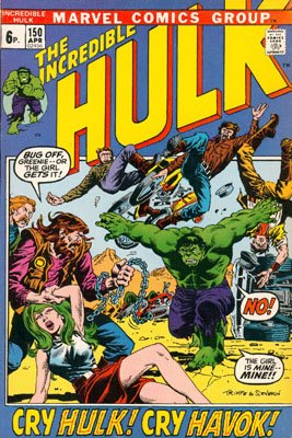 The Incredible Hulk # 150