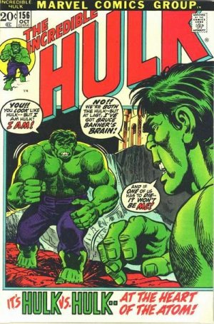 The Incredible Hulk # 156