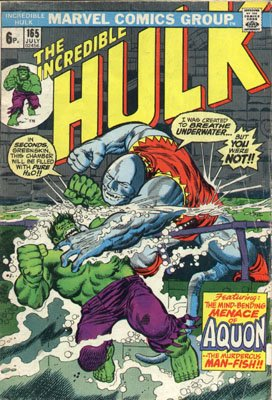 The Incredible Hulk # 165
