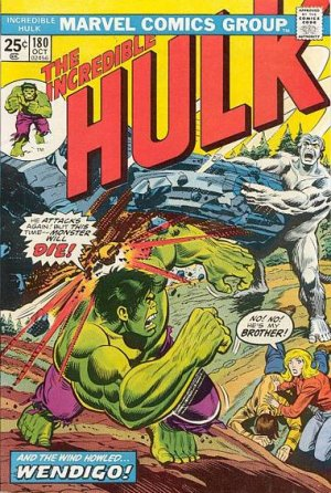 The Incredible Hulk 180 - And the Wind Howls... Wendigo!