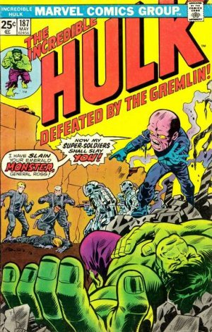 The Incredible Hulk # 187