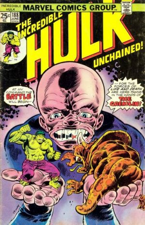 The Incredible Hulk # 188