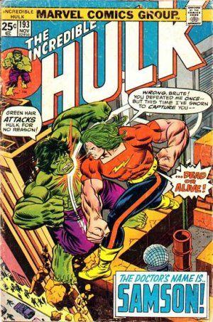 The Incredible Hulk # 193