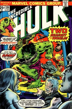 The Incredible Hulk # 196