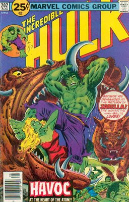The Incredible Hulk 202 - Havoc at the Heart of the Atom