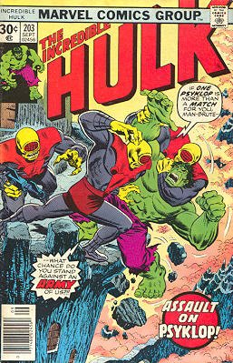 The Incredible Hulk # 203
