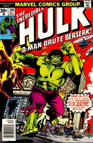 The Incredible Hulk # 206