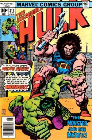 The Incredible Hulk # 211