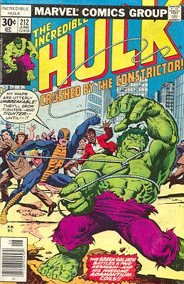 The Incredible Hulk # 212