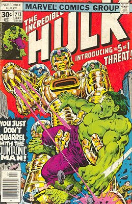 The Incredible Hulk # 213