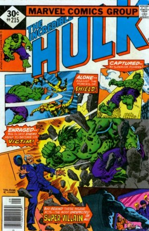 The Incredible Hulk # 215