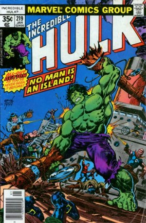 The Incredible Hulk 219 - No Man Is An Island!