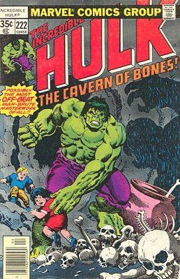 The Incredible Hulk # 222